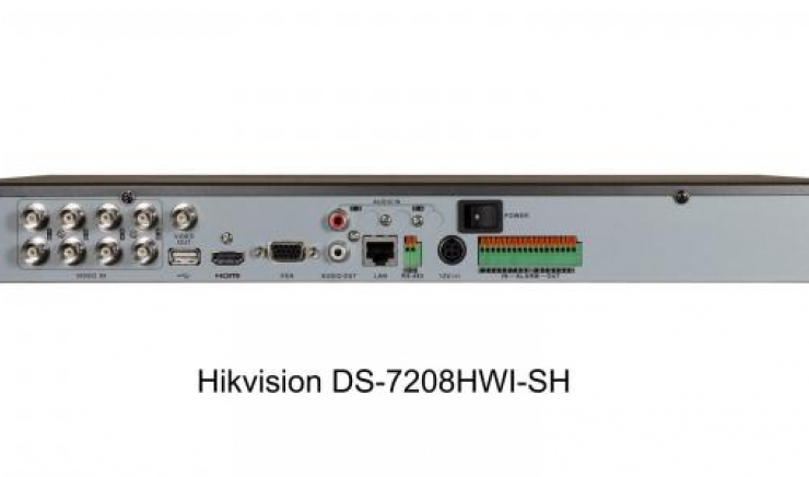 Dvr 8 ch analogici 2 ch IP Real Time HIKVISION