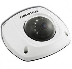 Telecamera IP  MiniDome 1/3 Progressive Scan CMOS 1.3MP HIKVISION DS-2CD2512F-I