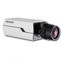 "Telecamera BOX IP Onvif 1/3"" Progressive Scan CMOS 1.3 MP WDR 120dB HIKVISION DS-2CD4012FWD-A"