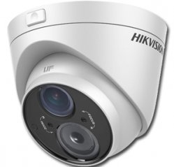 "Telecamera MiniDome TurboHD 720P EXIR 1/3"" CMOS Varifocal 2.8-12mm HIKVISION DS-2CE56C5T-VFIT3"