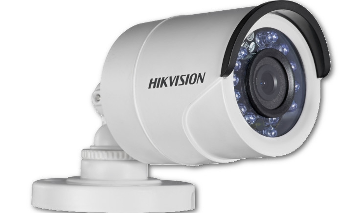 "Telecamera bullet analogica TurboHD 720P 1/3"" Progressive Scan CMOS 3.6mm HIKVISION DS-2CE16C2T-IR"