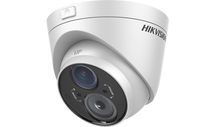 "Telecamera MIni Dome analogica TurboHD 1080P Exir 1/3"" Progressive Scan CMOS 2.8-12 mm Varifocal HIKVISION DS-2CE56D5T-VFIT3"