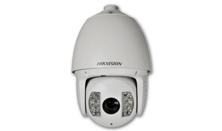 "Telecamera Speed Dome IP IR Onvif 1.3MP 1/3"" Sony Progressive Scan CMOS HIKVISION DS-2DF7274-AEL"