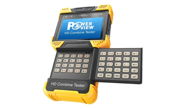 Monitor tester IP e HD-CVI POWERVIEW HD-Tester/ICA040